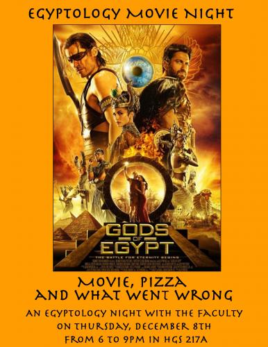 Egyptology Movie Night
