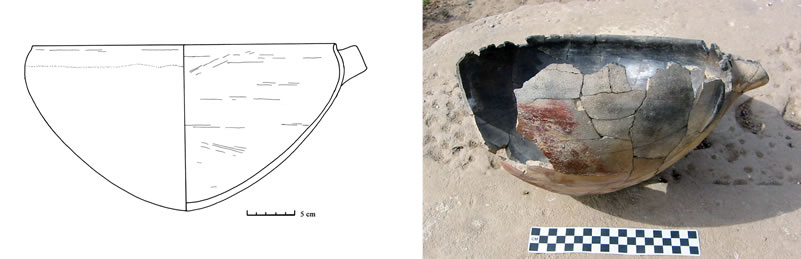 Figure 16 Spouted C-Group vessel from the eastern escarpment of Kurkur Oasis.
