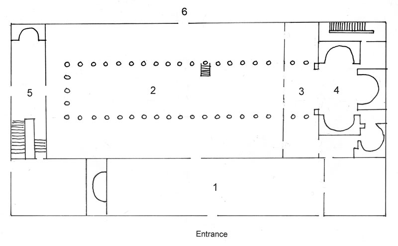 Figure 6. Plan of the Church.