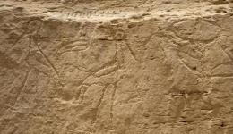 Dynasty 0 Rock Art Panel Discovery Egypt